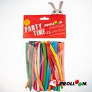 【大倫氣球】長條氣球 混色 小包裝 24入裝 260 MODELLING BALLOONS 台灣生產製造 安全玩具