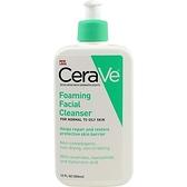 美國品牌 Cerave 玻尿酸溫和泡沫潔面乳 (可卸妝) 355ml【彤彤小舖】