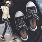 ins2019春夏季新款小白鞋女帆布鞋學生百搭韓版黑色原宿ulzzang板鞋