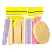 洗臉壓縮海綿(圓形)12入 顏色隨機【小三美日】