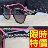 太陽眼鏡-偏光魅力英倫風創意造型明星同款防紫外線男女墨鏡4色55s34[巴黎精品]