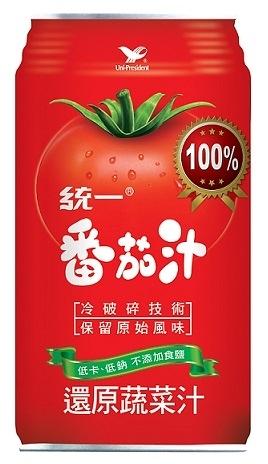 ●統一蕃茄汁340ml(24入/箱)-2箱【合迷雅好物超級商城】