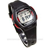 CASIO卡西歐 電子錶LW-201-4A紅黑色 橡膠錶帶 34mm 童錶 學生錶 LW-201-4AVDF