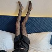 蕾絲襪子打底襪絲襪女美腿襪長襪百搭漁網連腳褲襪 樂淘淘