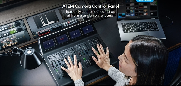 【聖影數位】BlackMagic ATEM Camera Control Panel 控制盤 公司貨