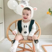 針衫帽 ins男女寶寶新生嬰兒春秋冬季針織兒童護耳套頭兔帽子可愛超萌0-3 晟鵬國際貿易