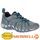 【MERRELL 美國】WATERPRO MAIPO 2 女水陸兩棲鞋『鐵灰/藍綠』034092 戶外.機能鞋.多功能鞋