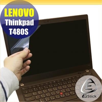 【Ezstick】Lenovo ThinkPad T480S 靜電式筆電LCD液晶螢幕貼 (可選鏡面或霧面)