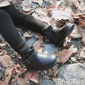 小皮鞋 史豌豆童鞋冬季男女童短靴公主洋氣保暖英倫風兒童小皮鞋 童趣屋