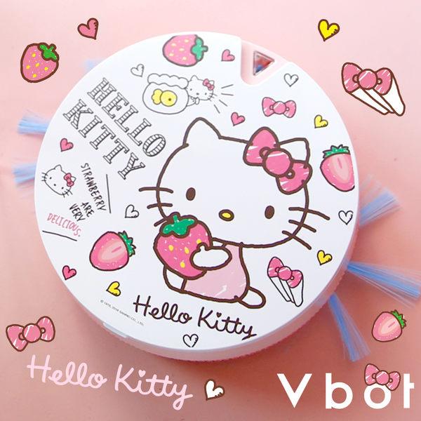 【送擦地組】Vbot x Hello Kitty i6+ 掃地機 掃地機器人 吸塵器 二代加強 (草莓牛奶蛋糕)