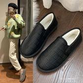 雪地靴-棉鞋女秋冬季網紅新款加絨加厚一腳蹬韓版時尚冬鞋學生面包鞋 東川崎町