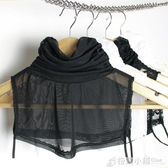 版女裝新款圍脖堆堆領假高領蕾絲假領網紗假領子假衣領 聖誕節鉅惠