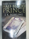 【書寶二手書T1/原文小說_B2N】Harry Potter and the Half Blood Prince_J.K Rowling