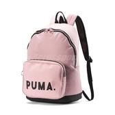 Puma 後背包 Originals Backpack 粉紅 黑 男女款 運動休閒 【PUMP306】 07664503
