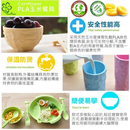 【Cornflower玉米花】快樂森林玉米餐具-熊貓餐盒 (匙+叉)-5入