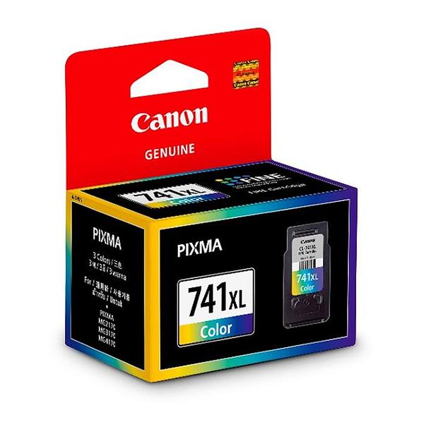 CL-741XL  CANON  彩色高容量墨水匣 MG2170 / MG3170 /MX377 / MX437 / MX517