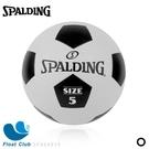 SPALDING Team 經典足球 5號 黑白 SPA64919 原價600元