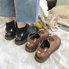 新款秋英倫學院風日系復古小皮鞋女學生韓版百搭單鞋ins潮鞋 FX2146 【科炫3c】