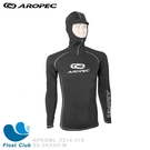 AROPEC 男款萊卡長袖頭套式防曬抗UV衝浪上衣 / 水上海上活動 - Lurk 潛伏 (限量版)