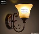 INPHIC- 復古歐式壁燈美式鄉村餐廳走廊陽臺酒店工程樣板房蠟燭壁燈_S197C
