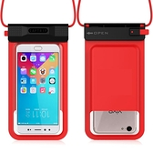 手機防水袋潛水套觸屏iphone7/8plus通用vivo外賣防雨華為 青木鋪子