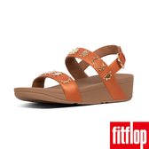 【FitFlop】LOTTIE CRESCENT STUD BACK-STRAP SANDALS(橙色)歡慶10周年!限時回饋66折