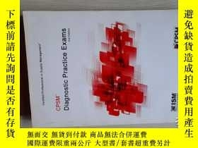 二手書博民逛書店CPSM:Diagnostic罕見Practice Exams(
