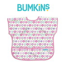 美國Bumkins 兒童短袖防水圍兜 -可愛花朵 BKU-750