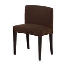 【森可家居】丹特咖啡色布餐椅 7ZX882-6