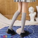 中筒襪襪子女加長春夏薄款女士防滑脫落長筒襪日系及膝襪黑色高筒襪米色小腿襪【寶貝 新品】