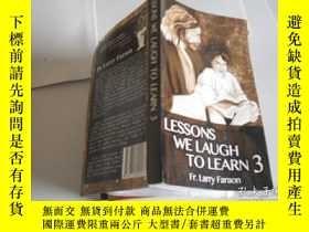 二手書博民逛書店LESSONS罕見WE LAUGH TO LEARN 3Y205