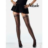 Aubade-激情克蕾兒L刺繡褲襪(黑)CB