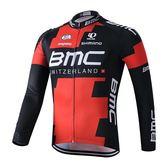 騎行服 紅色新款長褲夏季春秋山地自行單車-隊裝備長袖騎行服套裝 男女款 非凡小鋪