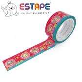 【ESTAPE】Squly 裝飾膠帶|交換禮物(18mm x 6M/手帳/裝飾)