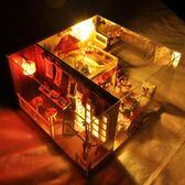 天予diy小屋櫻之物語閣樓手工創意房子模型拼裝生日禮物送女生