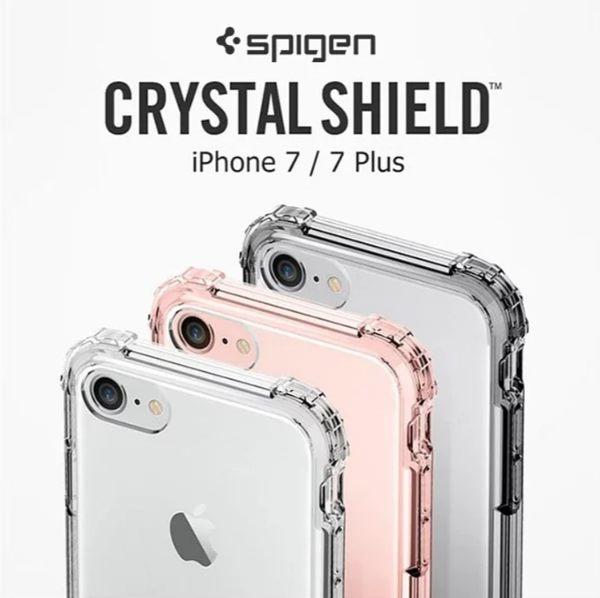 【SGP】iPhone 7/7 Plus Crystal Shell 四角強化防摔透明手機殼 手機殼 保護殼 手機套【迪特軍】