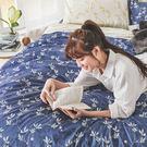 床包被套組 / 雙人【浮草之詩】含兩件枕...