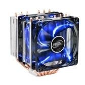 CPU散熱器九州風神玄冰400/大霜塔RGB CPU散熱器台式機電腦CPU風扇多平台