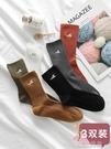 中襪3雙裝襪子可愛少女學生中筒襪ins潮...