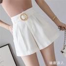 新款夏季時尚高腰A字短褲寬鬆外穿韓版顯瘦休閒熱褲潮 LF6133【極致男人】