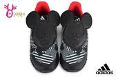 adidas FORTARUN MICKEY 慢跑鞋 小童 輕量 米奇 迪士尼聯名 寶寶運動鞋 Q9371#黑色◆OSOME奧森鞋業