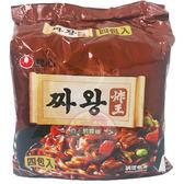 韓國 農心 炸醬王麵134g*4包(整袋裝)【小三美日】炸王醡醬麵
