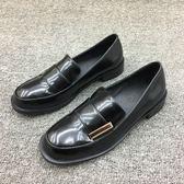 樂福鞋女鞋英倫風單鞋牛津鞋復古小皮鞋平底