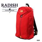 紅色機能耐磨後背包  AMINAH~【 RADISH R809】