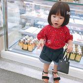 女童T恤 女寶寶T恤女童T恤露背短袖上衣洋氣 珍妮寶貝