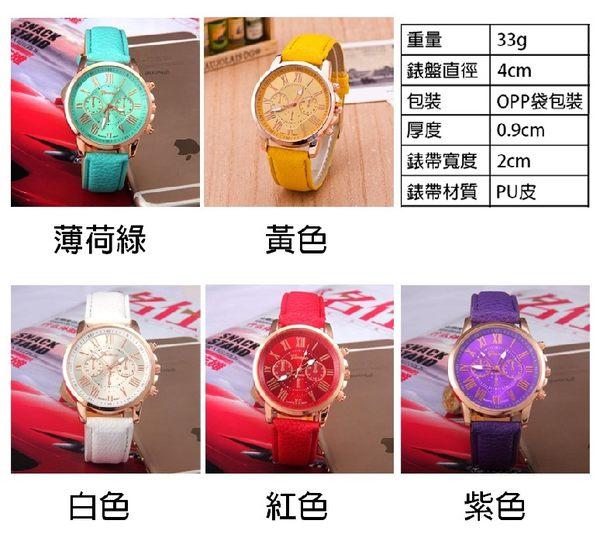 [24hr-現貨快出] 韓國 韓版 手錶 熱賣 極簡 休閒 三眼 大錶盤 手錶 女錶 男 女 錶 皮帶 情侶 對錶