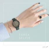 手錶 手錶女學生簡約氣質ins原宿風 韓版超火復古學院細帶小巧女生女錶 米娜小鋪