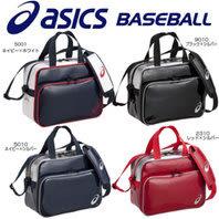 ASICS 亞瑟士 亮面 側肩袋 棒球包 鞋包 - BEA462-9010 黑銀 [陽光樂活]
