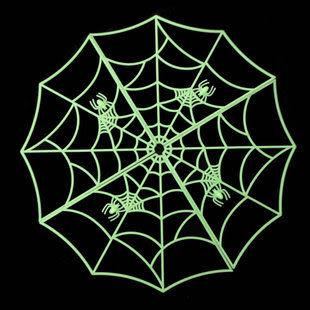 萬聖節用品 裝飾 整蠱玩具 夜光蜘蛛網