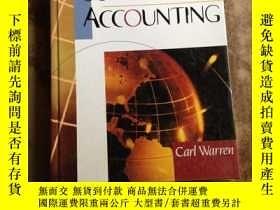 二手書博民逛書店Survey罕見of Accounting (16開精裝英文原版